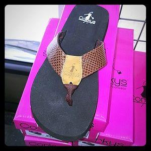 e5b0052598afb Corkys Shoes - Corkys Flip Flop Secret Chocolate